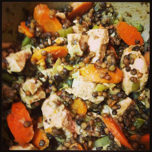 Recipe: Chicken & Lentils